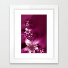 LIKE A FLOWER VII Framed Art Print