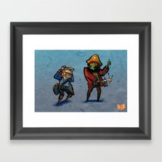Use Verb on Noun #32: Monkey Island 2: LeChuck's Revenge Framed Art Print