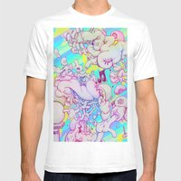 Music Response Mens Fitted Tee White SMALL