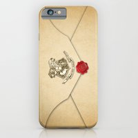 harry potter iPhone & iPod Cases featuring HARRY POTTER ENVELOPE by Sophie