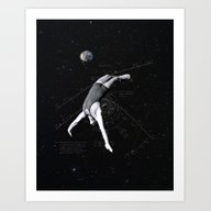 Human Satellite Art Print