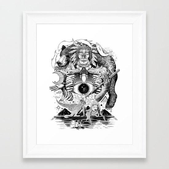 Dream Pipe Framed Art Print