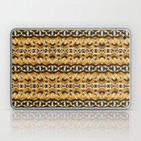 Montana Stripe - Gold Laptop & iPad Skin
