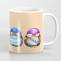 Grumpy Owls Mug