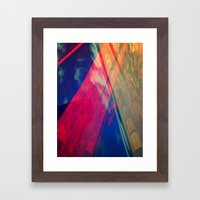 Signs in the Sky Collection II- Pillars to the Sky Framed Art Print