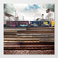 Mage Train Canvas Print