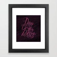 Drug Dealer Picasso's Framed Art Print