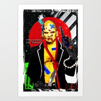 Recognize My Voice? Art Print