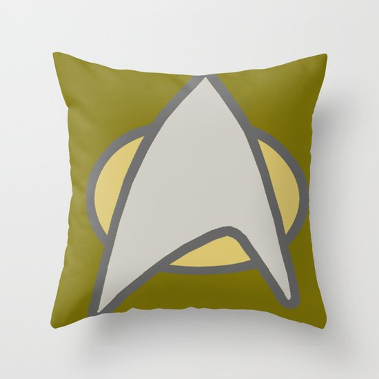 Star Trek, Communicator  Throw Pillow