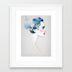 Anna's Humming Birds  Framed Art Print