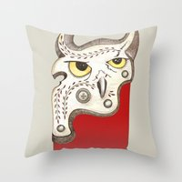 Five Throw Pillow