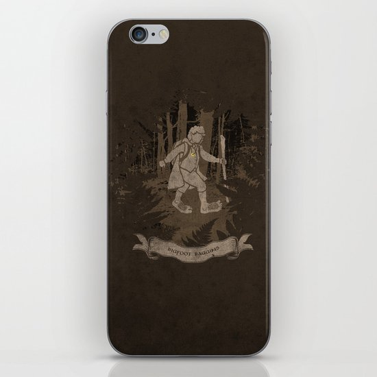 Bigfoot Baggins iPhone & iPod Skin