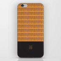 Orange iPhone & iPod Skin