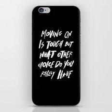 MOVINGON iPhone & iPod Skin
