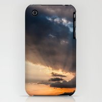 iPhone 3Gs & iPhone 3G Cases featuring Sunset rays by Patrik Lovrin Photography
