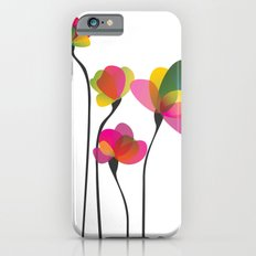 Abstract Flowers iPhone 6s Slim Case