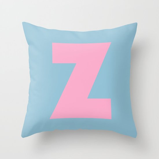 Z is for... Throw Pillow