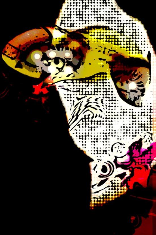 Magic Ninja Art Print