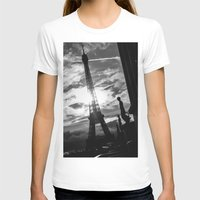 eiffel T-shirts featuring Eiffel by Nat Alonso