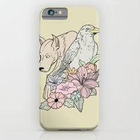 iPhone & iPod Case featuring si canem corvus by Eric Weiand