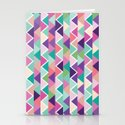 Yummy triangles Stationery Cards