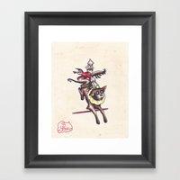 Kewpie Circus Framed Art Print