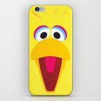 Minimal Bigbird iPhone & iPod Skin