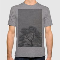 Above the Clouds Mens Fitted Tee Athletic Grey SMALL