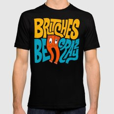 Britches be Crazy Black Mens Fitted Tee SMALL