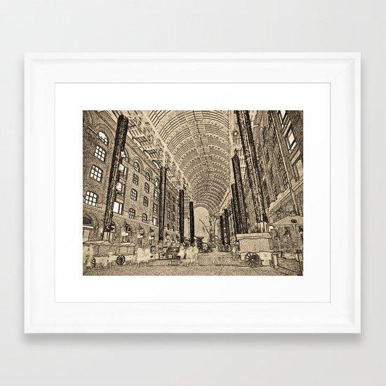 Hay's Galleria London Framed Art Print
