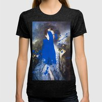 Blue Bomb Womens Fitted Tee Tri-Black SMALL