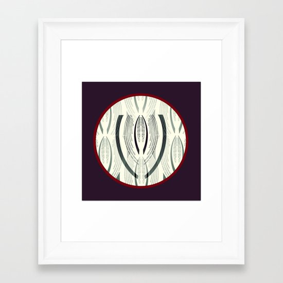 The symbol Framed Art Print
