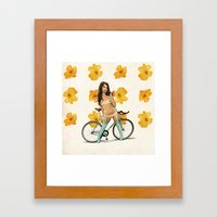 One Bite And All Your Dr… Framed Art Print