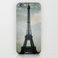 Eiffel Tower in the Storm iPhone 6 Slim Case