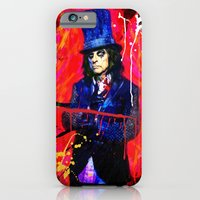 iPhone & iPod Case featuring Alice Cooper by manish mansinh