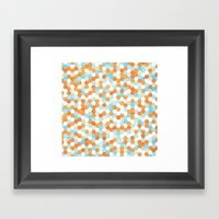 Honeycomb   Fish Bowl Framed Art Print