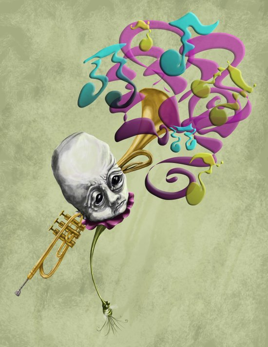 Music to my Ears Art Print