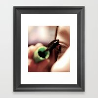 Application Framed Art Print