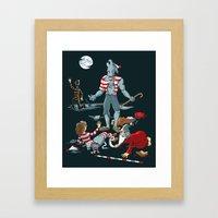 WereWaldo Framed Art Print
