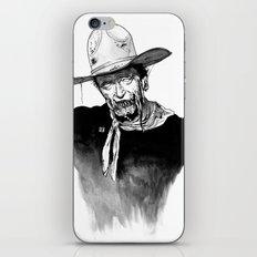 Zombie Wayne. iPhone & iPod Skin