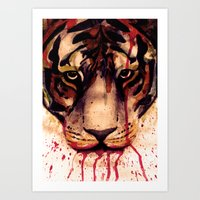 Tyger! Tyger! Burning Br… Art Print
