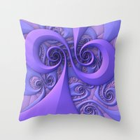 I Saw The Wind Today Throw Pillow