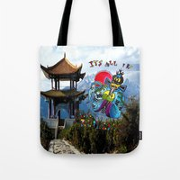 Big Trouble In Little Ch… Tote Bag