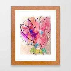 little digital bouquet Framed Art Print