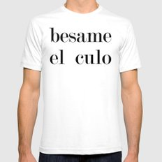 Besame Mens Fitted Tee White SMALL