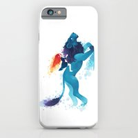 iPhone & iPod Case featuring Lion Rider by Freeminds