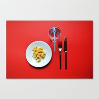 Primary Colours : Breakf… Canvas Print