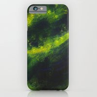 iPhone & iPod Case featuring Green Galaxy by Ravius Kiedn