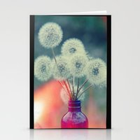 Dandelion Bouquet Lomo S… Stationery Cards