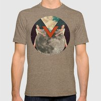 Ritual Union Mens Fitted Tee Tri-Coffee SMALL